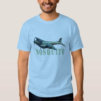 Camiseta del azul de cielo del bombardero de remera