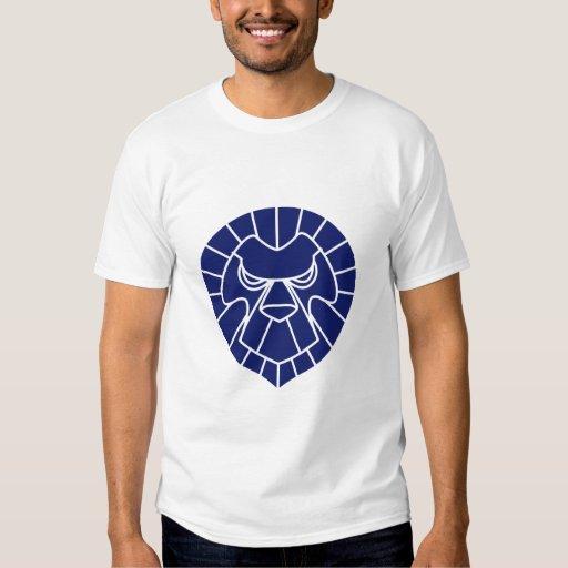 Camiseta del azul de las karmas de Jackie Poleras