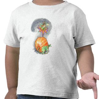 Camiseta del bailarín de la calabaza del niño