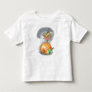 Camiseta del bailarín de la calabaza del niño remeras