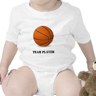 Camiseta del baloncesto del bebé