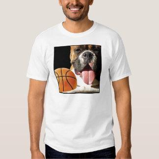 Camiseta del baloncesto del boxeador remeras