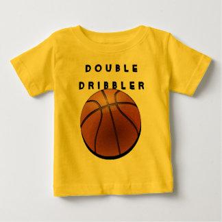 camiseta del baloncesto para el bebé drooling