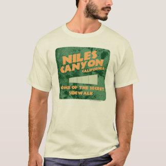 Camiseta del barranco de Niles