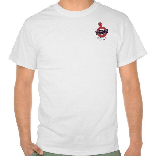 Camiseta del batidor de la recesión de la ciudad d