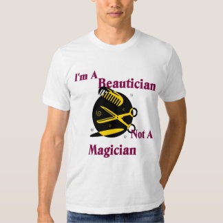 Camiseta del Beautician Playeras