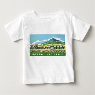 Camiseta del bebé con el logotipo de SLT (todo Polera