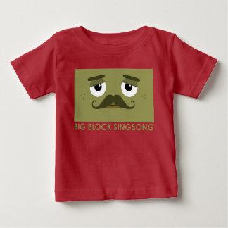 Camiseta del bebé de BBSS Moustachios #2 Remera