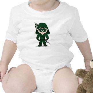 Camiseta del bebé de Chibi Archer