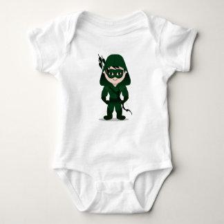 Camiseta del bebé de Chibi Archer Polera