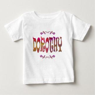 Camiseta del bebé de Dorothy Remeras