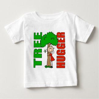 Camiseta del bebé de Hugger del árbol Remeras