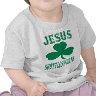 Camiseta del bebé de Jesús Shuttlesworth