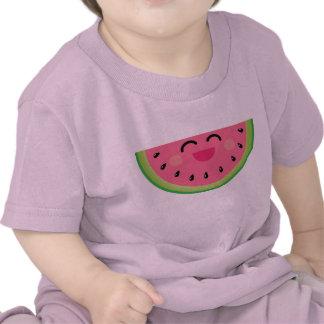 Camiseta del bebé de Kawaii de la sandía