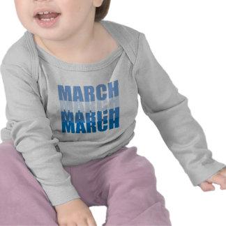Camiseta del bebé de la banda
