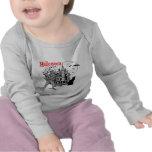 Camiseta del bebé de la casa encantada de