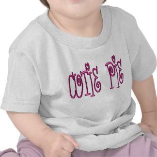 Camiseta del bebé de la empanada de Cutie