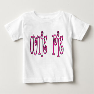 Camiseta del bebé de la empanada de Cutie Playera Para Bebé
