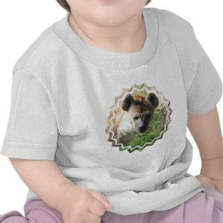 Camiseta del bebé de la foto del Hyena
