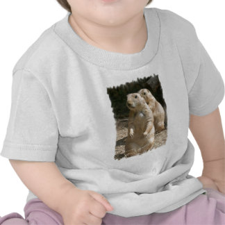 Camiseta del bebé de la foto del perro de las