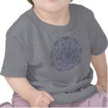 Camiseta del bebé de la mandala 5