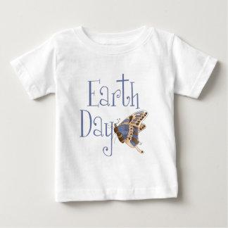 Camiseta del bebé de la mariposa del Día de la Poleras