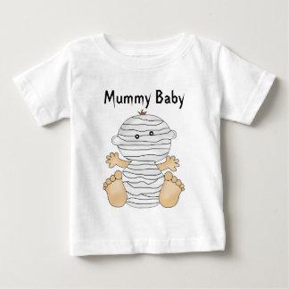 Camiseta del bebé de la momia de Halloween de la Playeras