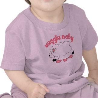Camiseta del bebé de la niña del Veggie