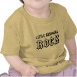 Camiseta del bebé de la roca de los pequeños herma