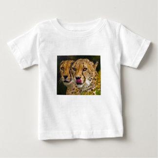 Camiseta del bebé de los leopardos playeras