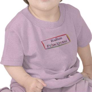 Camiseta del bebé de Principessa