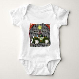 Camiseta del bebé de Toon de la ciudad Camisas