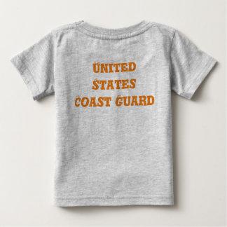Camiseta del bebé de USCG por OHP