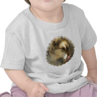 Camiseta del bebé del almuerzo del lobo