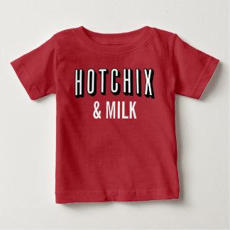 """Camiseta del bebé del bebé de """"HOTCHIX y de la"""