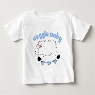 Camiseta del bebé del bebé del Veggie Playeras