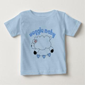 Camiseta del bebé del bebé del Veggie Remera