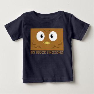 Camiseta del bebé del búho de BBSS Playera