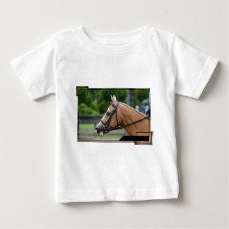 Camiseta del bebé del caballo del Palomino Remera