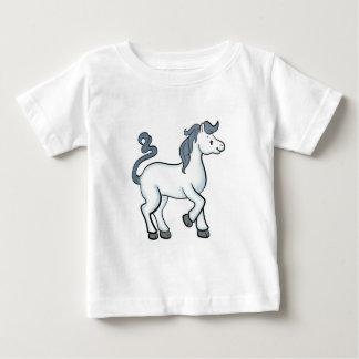 Camiseta del bebé del caballo
