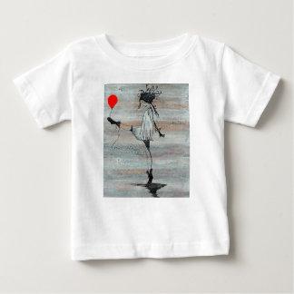Camiseta del bebé del chica del alboroto de Luna Polera