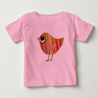 Camiseta del bebé del chirrido playera