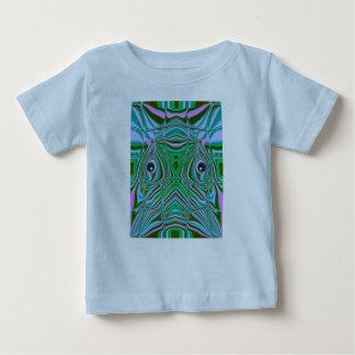 Camiseta del bebé del cuenco de los pescados