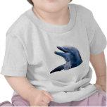 Camiseta del bebé del delfín