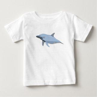 Camiseta del bebé del delfín playeras