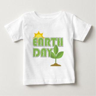 Camiseta del bebé del Día de la Tierra Camisas