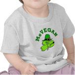 Camiseta del bebé del día de McVegan St Patrick