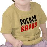 Camiseta del bebé del eje de balancín con del nomb