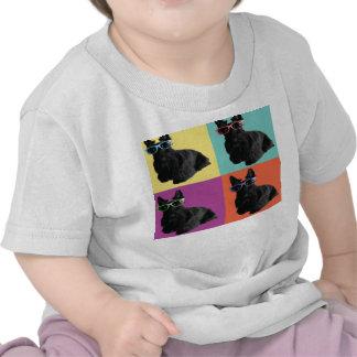 Camiseta del bebé del escocés del inconformista