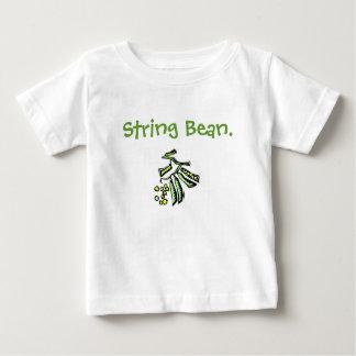 Camiseta del bebé/del niño de hilo playeras